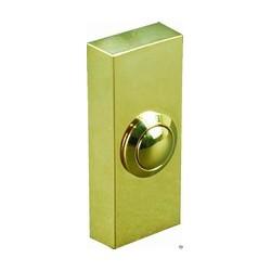 Drukknop push brass finish (DB705)