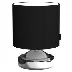 Tafellamp zwart metaal textiel (6000.473)