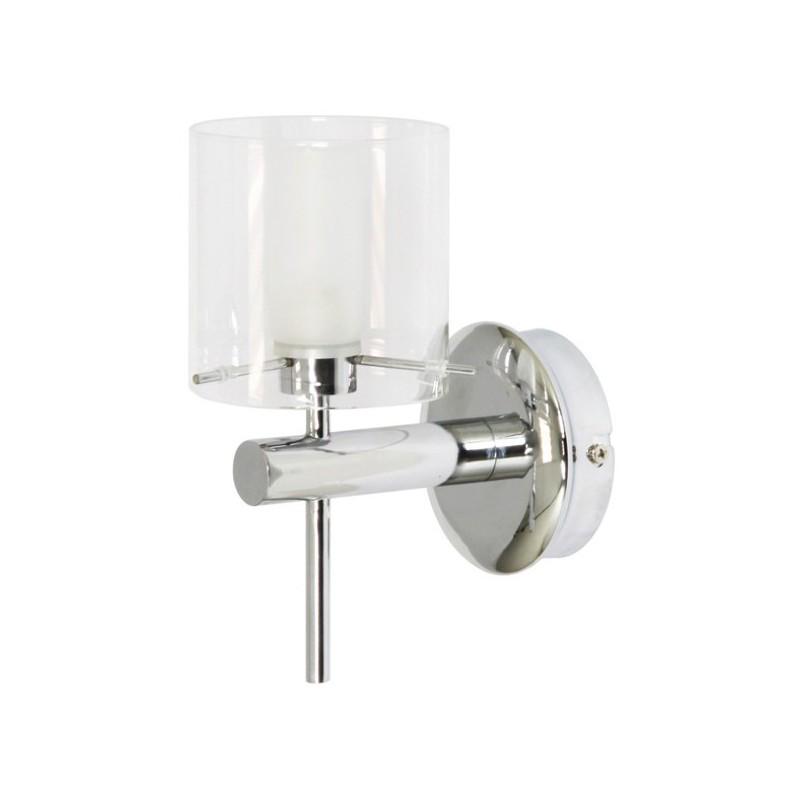 Wandlamp chroom staal glas Dubino (3000.057)