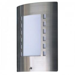 Wandlamp met dag/nacht sensor geborsteld RVS kunststof (5000.087)
