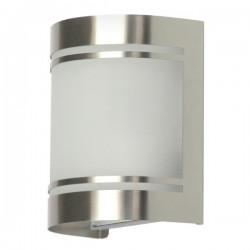 Wandlamp geborsteld RVS glas Alicante (5000.298)
