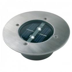 Ronde LED solar grondspot...