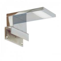 LED spiegellamp chroom metaal glas (3000.073)