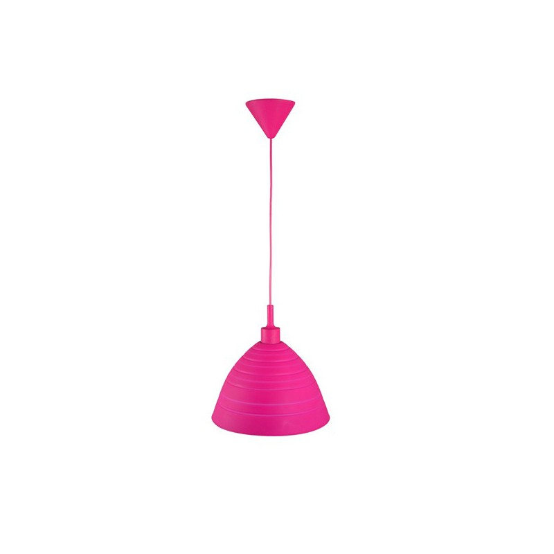 Hanglamp roze siliconen Silly (6000.581)
