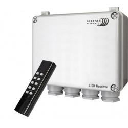 Outdoor 3-weg schakelkast met afstandsbediening (HE832S)