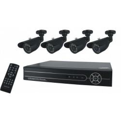 4-kanaals digitaal opnameapparaat + 500 gb harde schijf (FA420DVR)