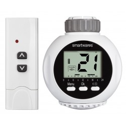 Smartwares draadloze radiator thermostaat met afstandsbediening (SHS-53000)