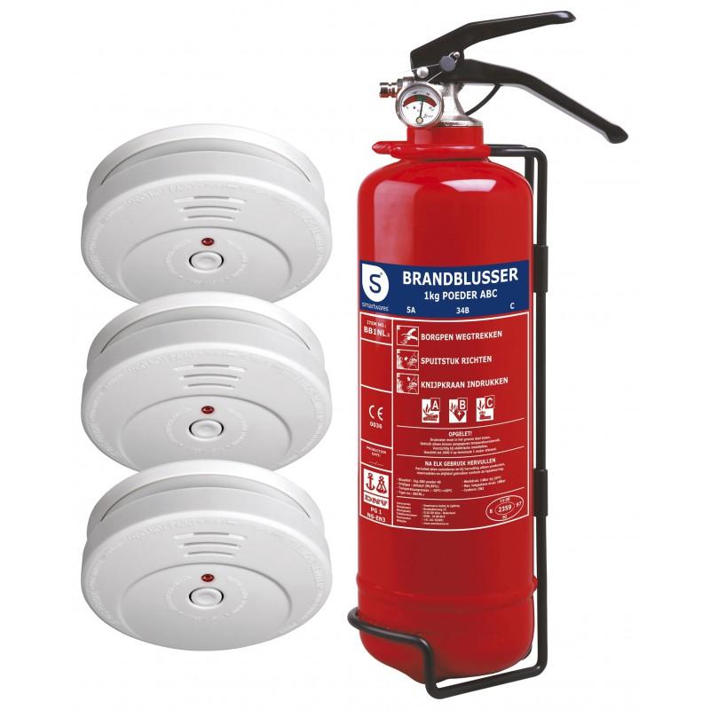 Smartwares brandbeveiligingsset basic (FSSB-15NL)