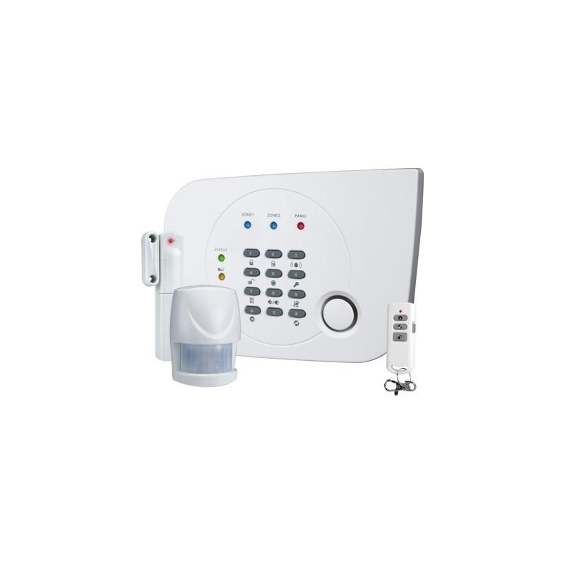 Draadloos alarmsysteem met ingebouwde telefoonkiezer (HA700)