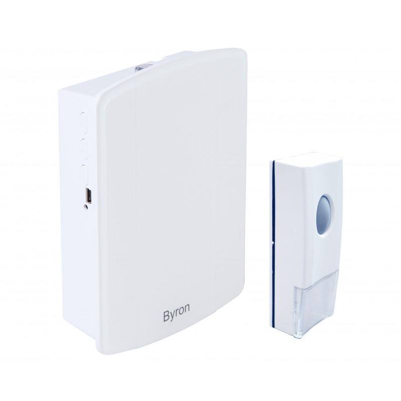 Byron draadloze MP3 deurbelset (B002E)