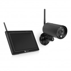 Smartwares CS97DVR Draadloos Camerasysteem – 1080p full HD – Met gratis app – Touch screen – Nachtzicht