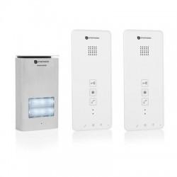DIC-21122 Audio intercom systeem voor 2 appartementen