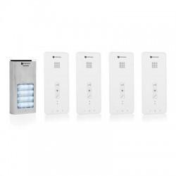 DIC-21142 Audio intercom systeem voor 4 appartementen